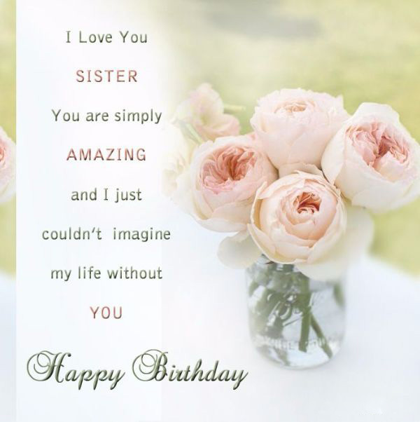 fabulous Birthday Wishes for Sister