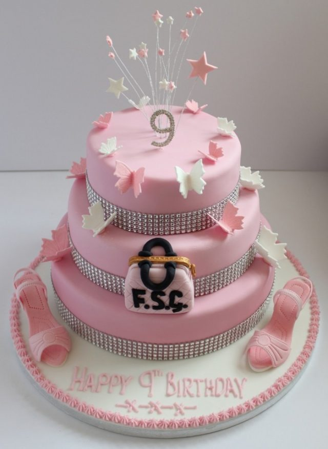 girly Birthday Cakes for Girls and Women