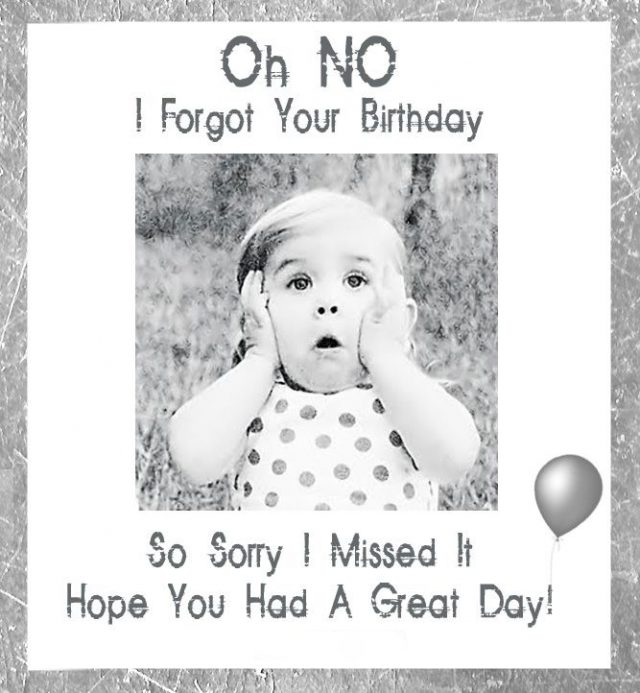 great happy belated birthday funny