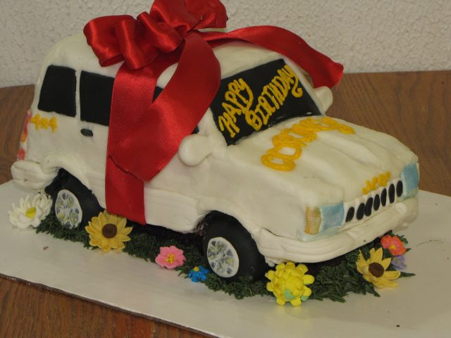 Happy Birthday Cake For Boys Car