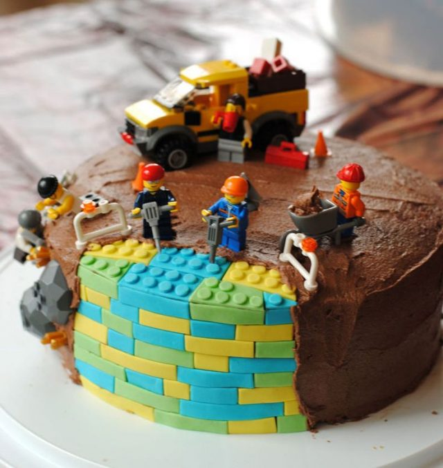 happy birthday cake for boys – LEGO