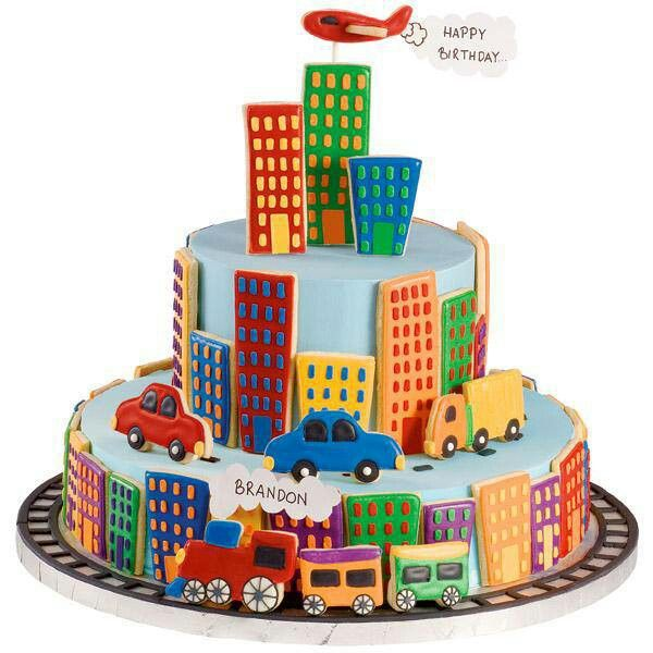 happy birthday cake for boys – the city