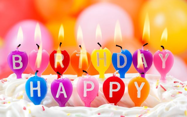 happy birthday greetings for facebook and candles