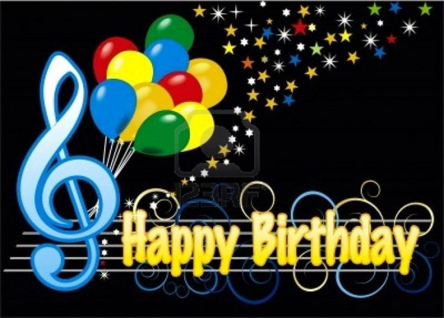 happy birthday greetings for facebook and music