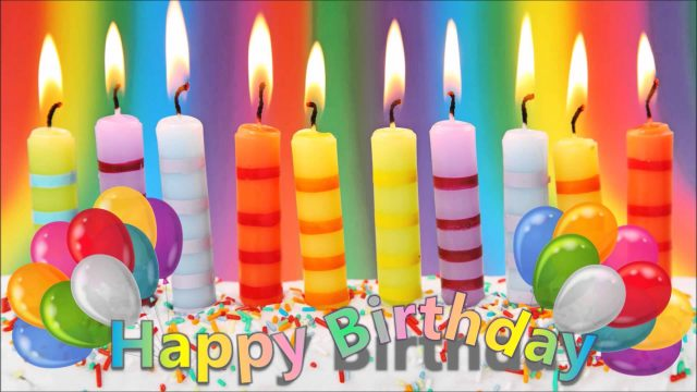 huge Happy Birthday Candles Images