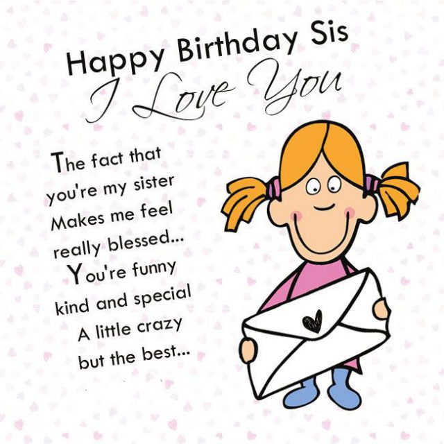 Kind Birthday Wishes For Sister