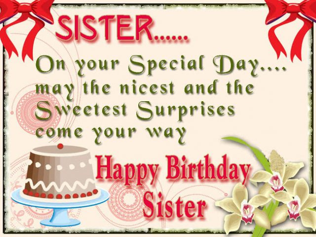 61 unique happy birthday wishes for sister with images 9 happy nice birthday wishes for sister m4hsunfo