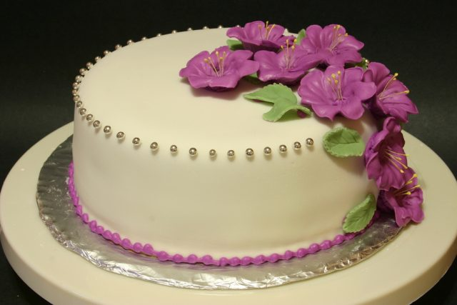 purple Birthday Cakes for Girls and Women