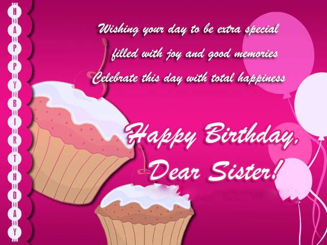 wishing Birthday Wishes for Sister
