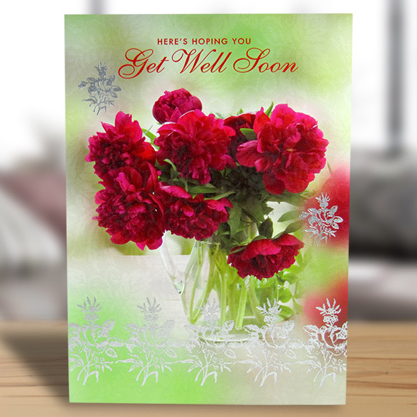 3D get well soon cards