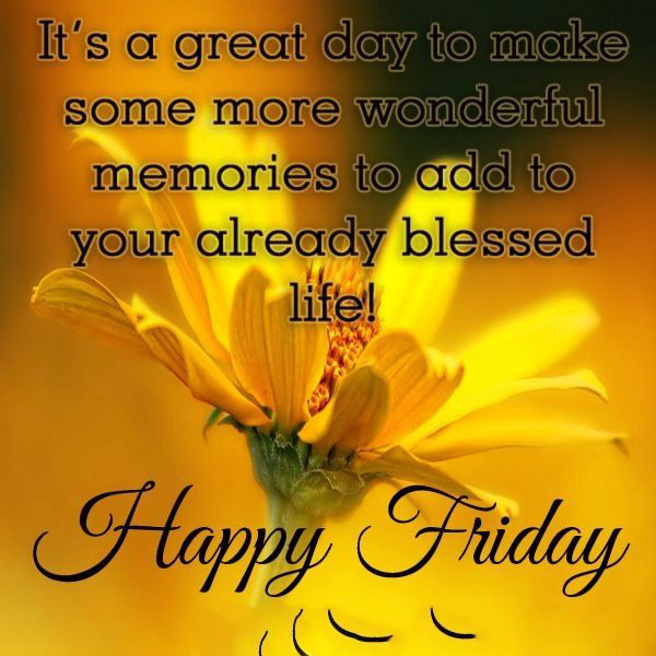 Awesome Happy Friday quotes