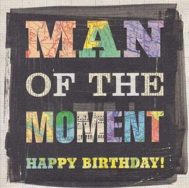 Awesome happy birthday pictures for men