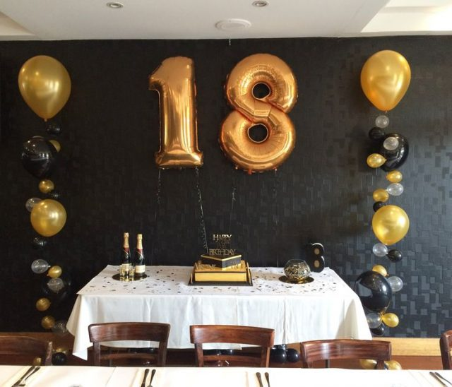 Beautiful Golden Birthday Ideas