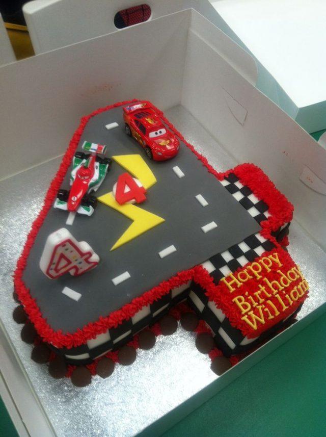 Birthday Cake for Little Boys – The race