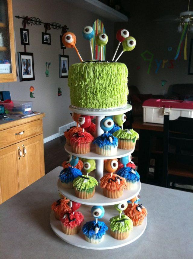 Birthday Cake for Little Boys – little monsters