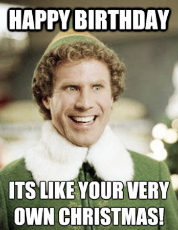 Birthday Funny Meme – Birthday on Christmas