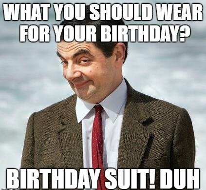Birthday Funny Meme – Mr.Bean