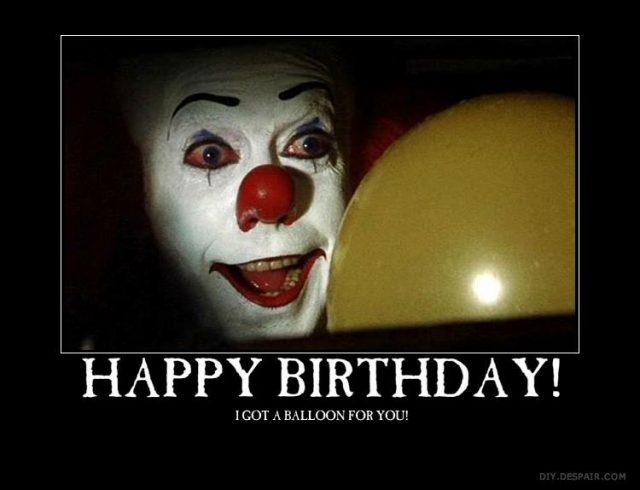 Birthday Funny Meme – Pennywise