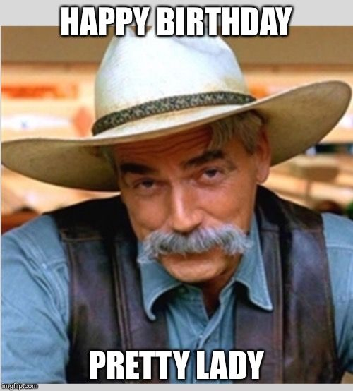 Birthday Funny Meme for pretty lady