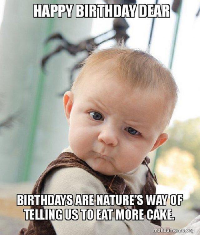 Birthday Funny Meme – funny baby