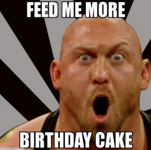 Birthday Funny Meme – hungry man