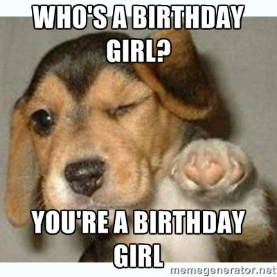 Birthday Funny Meme – twinkle eyes