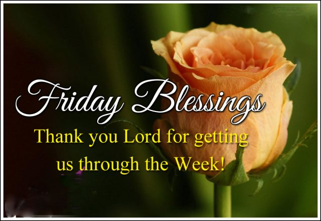 Blessing Good Morning Friday quotes