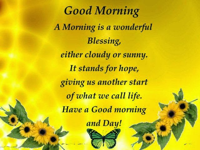 Blessing good morning quotes