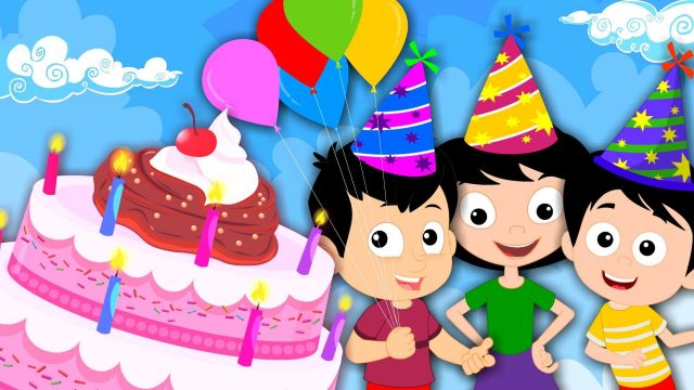 Friendly happy birthday pictures for kids