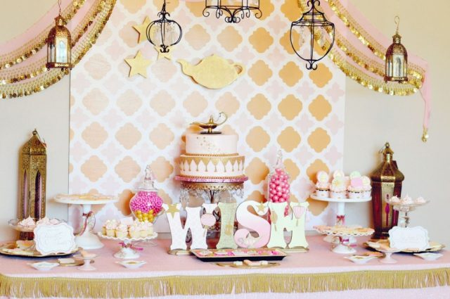 Girly Golden Birthday Ideas