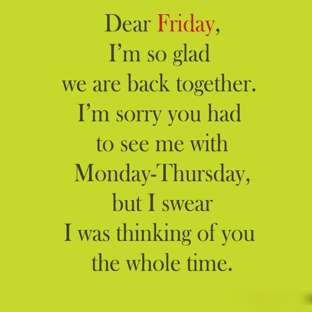 Glad Happy Friday quotes