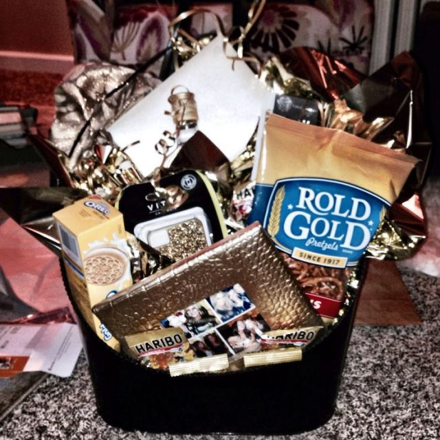 Golden Birthday Basket