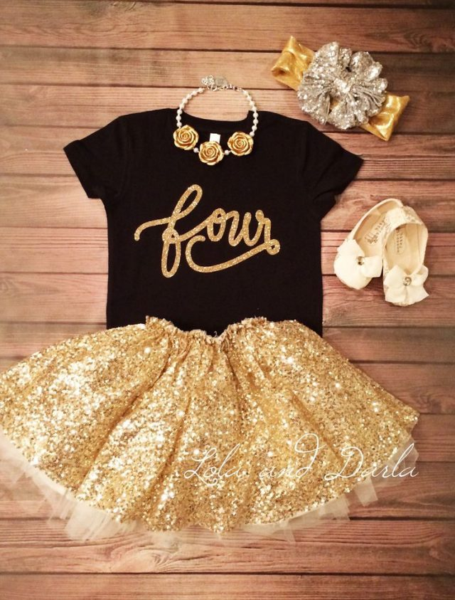 Golden Birthday Gifts – clothes