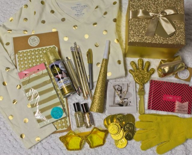 Golden Birthday Gifts for girls