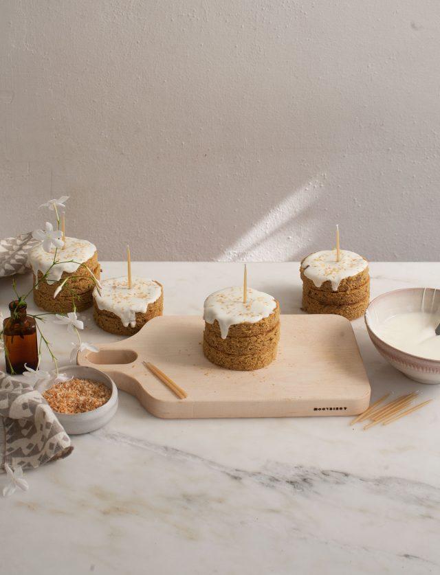 Grain-Free Mini Dog Birthday Cake