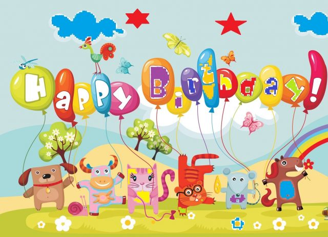 Jungle happy birthday pictures for kids