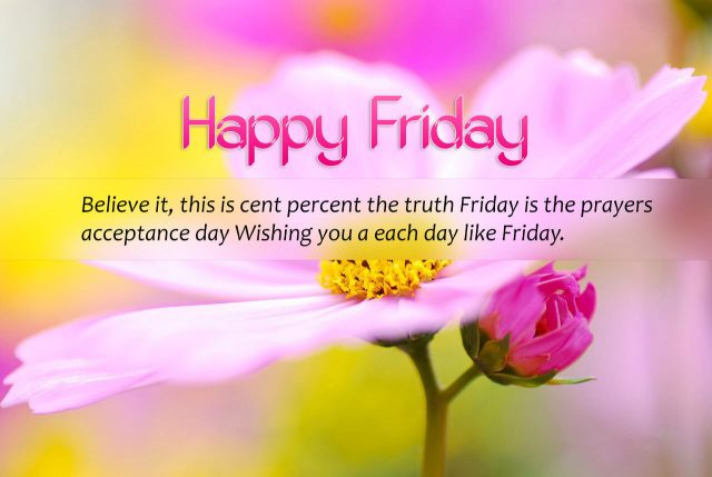 Lovely Happy Friday quotes