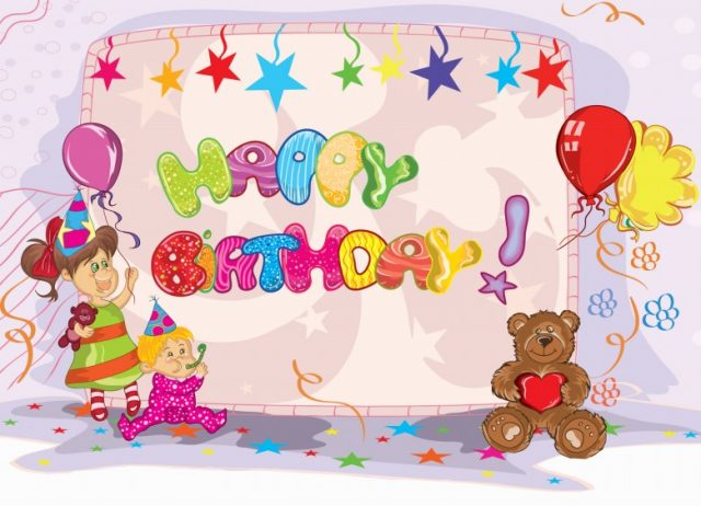 Lovely happy birthday pictures for kids
