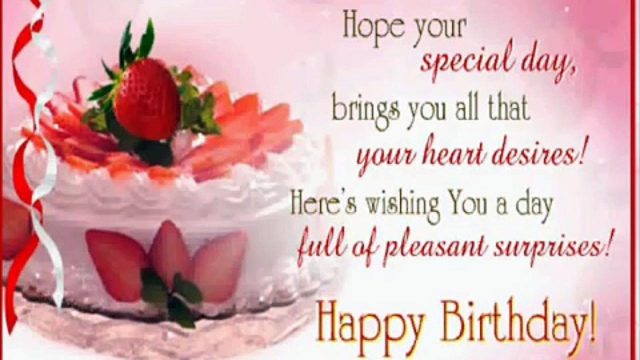 Special happy birthday pictures for messages
