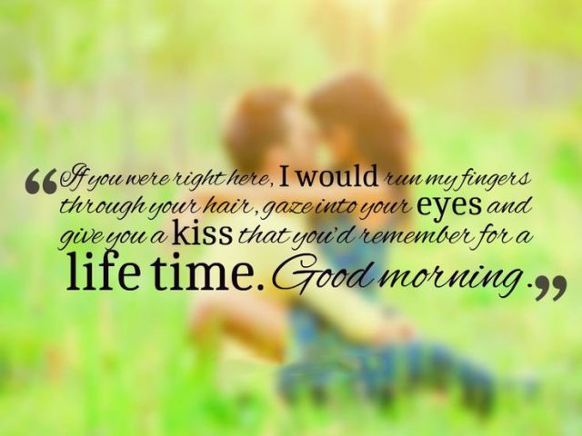 Tender good morning quotes for her