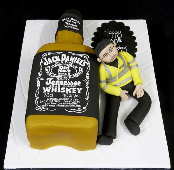 Unique Birthday Cake Cool Man