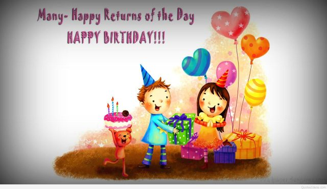 Unique happy birthday pictures for kids