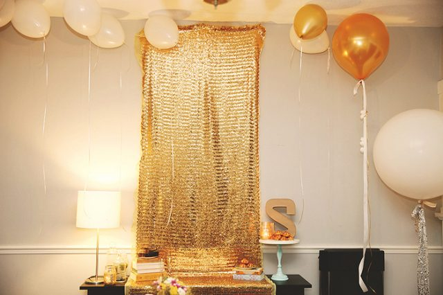 Warm Golden Birthday Ideas