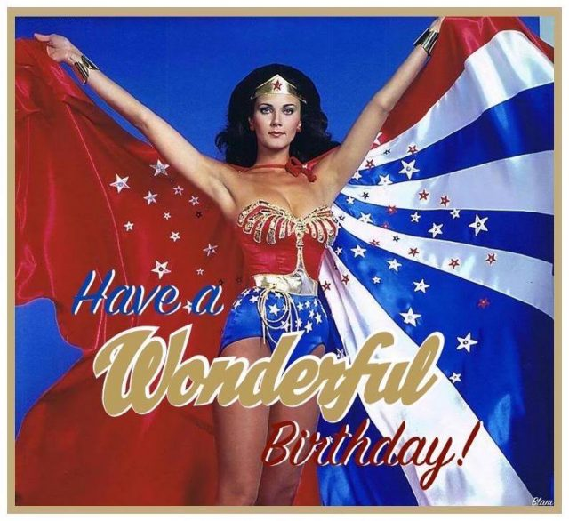 birthday pictures for women – the wonder woman