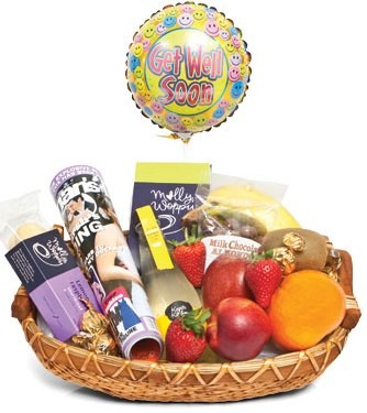 get well soon gifts basket