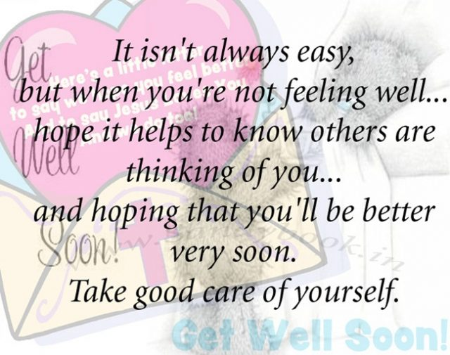 get well soon messages – better yourself