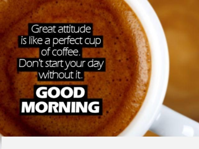 good morning quotes – coffee