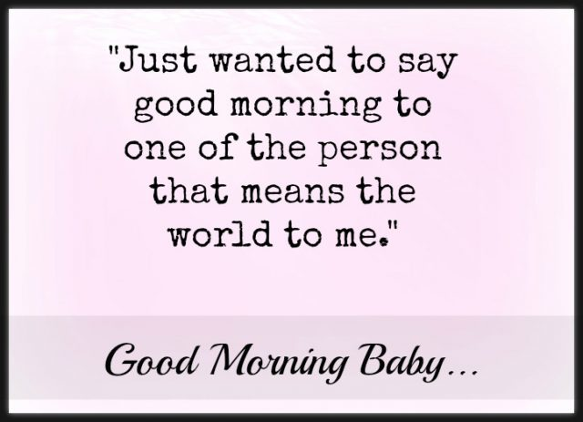 good morning quotes for her – important person