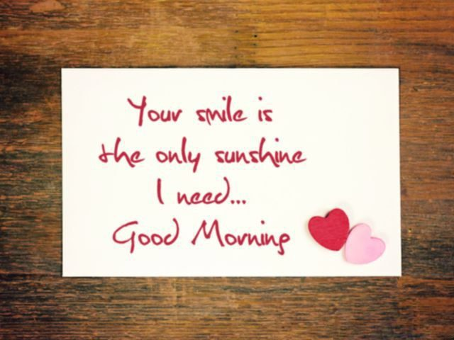 good morning quotes for her – your smile