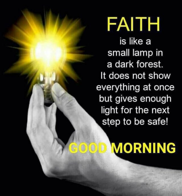 good morning quotes – the Faith